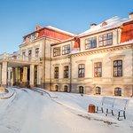 Dikli Palace hotel in winter