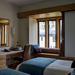 Twin bedroom in main hotel