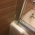 Scabby bathroom in junior suite