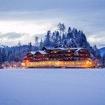 Parkhotel Tristachersee im Winter