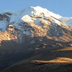 View of Chimborazo from Casa Condor