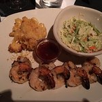 Bonefish Grill - my shrimp & scallops dinner