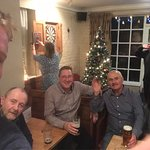 A few beers over the Christmas holidays at The Coach House Inn Rosedale Abbey, North York Moors
