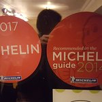 One Michelin star for Cellar Bar.