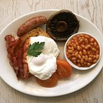 Freshly cooked breakfast to order with a choice of scrambled, fried or poached egg.