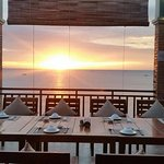 Pre-booked table for sunset