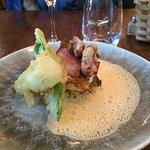 filet de merlu légumes façon tempura