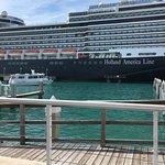 Cruise ship port a few blocks away