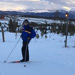 Nordic skiing on-site.