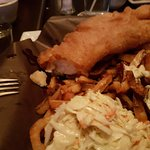 Fish & Chips with Coleslaw