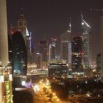Dubai city at night!