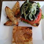 Portobello Sandwich - you order the potatoes extra