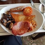 Full English with fried bread