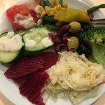 Salat von der Salatbar