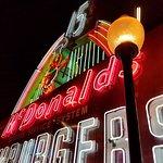Huge vintage McDonald's Sign