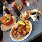 An amazing breakfast!!