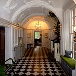 The impressive entrance hall