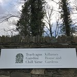 Killarney House and Gardens entrance off Mission Road