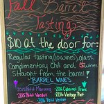 Some of Horton Vineyards' fall events