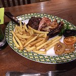 The mixed grill, a little disappointing for my appetite!