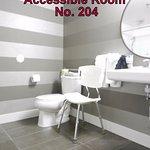 Accessible Room No. 204