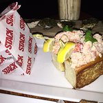 Both the oysters on the half shell east/west and Lobster Roll on Bread were Awesome!!!!