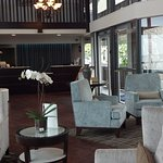 The lobby allows you to relax and unwind from the moment you arrive