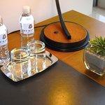 Room 1006 - Desk w/ complimentary bottled water