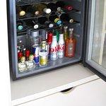 Room 1006 - Mini-bar fridge w/ snacks below