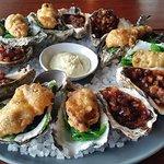 Tempura & Kilpatrick Oysters - mmmm!