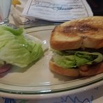 My burger....