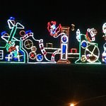 Holiday display lights