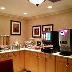 Breakfast room, second floor. Best coffee!