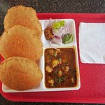 Bedmi Poori in the breakfast...