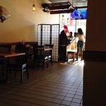 nice entry into smallish restaurant