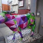 Cow theme? Outside reception