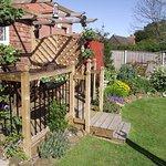 Guest Garden area