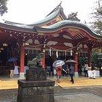 久伊豆神社拝殿