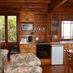 gemütliches Wohn/Esszimmer mit Küche