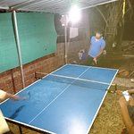 Table Tennis Match in progress
