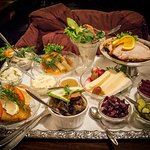 Copenhagen Platter with all the Danish specialties for about $30 per person