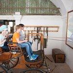 Kutschensimulator Erlebnispfade Schloss Hof (c) Gerfried Tamerler für SKB
