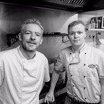 head chef chris gribben and sous chef sean chambers, mayobridge golf club