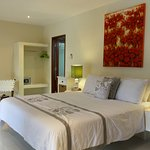Luxury double bedroom at 2 bedrooms villa