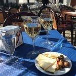 Tapa and wine