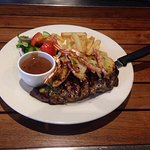 Crafty Cook Bistro is great, always serving up delicious meals. My $23 Surf & Turf was cooked to