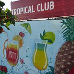 known for tropical cocktails