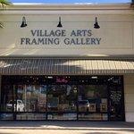 Village Arts Framing Gallery in Sawgrass Village between Chicos and Hilton Garden Inn. Features