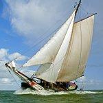 Classic sailing ship 'Liberté'