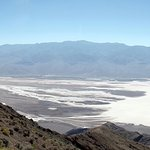 stunning view over Death Valley